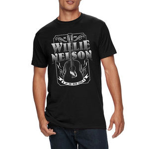 Willie Nelson On The Road Again  T-Shirt M L XL 2X